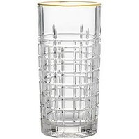 Product photograph showing Ravenhead Regency Gold Set Of 2 Highball Glasses