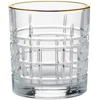 Product photograph showing Ravenhead Regency Gold Set Of 2 Mixer Glasses