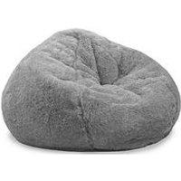 Product photograph showing Rucomfy Slouchbag Faux Fur Bean Bag