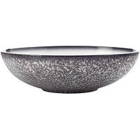 Product photograph showing Maxwell Williams Maxwell Williams Caviar Granite Porcelain Serving Bowl