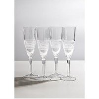 Product photograph showing Maxwell Williams Verona Crystalline Champagne Flute Glasses Ndash Set Of 4