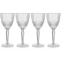 Product photograph showing Maxwell Williams Verona Crystalline Red Wine Glasses Ndash Set Of 4