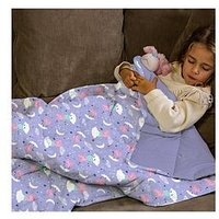 Product photograph showing Peppa Pig Rest Easy Sleep Better Weighted Blanket