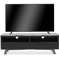 Product photograph showing Vida Living Luana Tv Unit - Grey - Fits Up To 50 Inch Tv