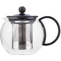 Product photograph showing Bodum Transparent Assam Tea Press With Plastic Filter 500ml