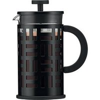 Product photograph showing Bodum Black French Press Eileen 8 Cup Coffee Maker 1 Litre