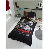Product photograph showing Call Of Duty Call Of Duty Warning Duvet Set - Single