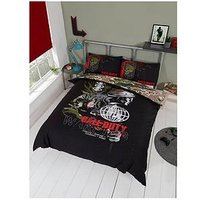 Product photograph showing Call Of Duty Call Of Duty Warning Duvet Set - Double