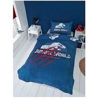 Product photograph showing Jurassic World Jurassic World Claws Duvet Set - Single