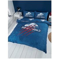 Product photograph showing Jurassic World Jurassic World Claws Duvet Set - Double