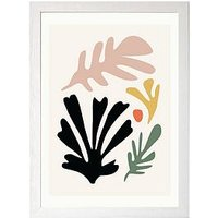 Product photograph showing East End Prints Abstract Cut-out I By Honeymoon Hotel A3 Framed Print