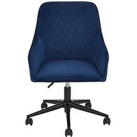 Product photograph showing Diamond Fabric Office Chair