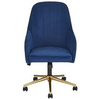 Product photograph showing Molby Office Chair - Navy