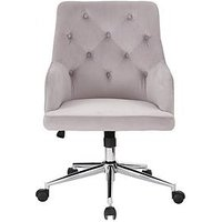 Product photograph showing Warwick Fabric Office Chair - Grey
