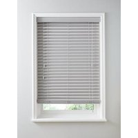 Product photograph showing Made To Measure 50mm Faux Wood Venetian Blinds
