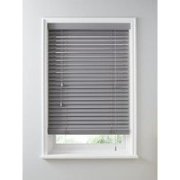 Product photograph showing Made To Measure 50mm Wooden Venetian Blinds - Ash