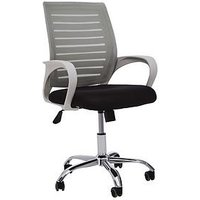Product photograph showing Premier Housewares Jameson Office Chair- Grey