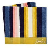 Product photograph showing Joules Summer Stripe Hand Towel