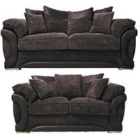 Maze 3-Seater + 2-Seater Scatterback Sofa (Buy And Save!)