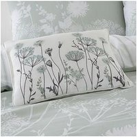 Product photograph showing Catherine Lansfield Catherine Lansfield Meadowsweet Floral Cushion
