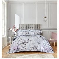Product photograph showing Bianca Fine Linens Amethyst 400tc Duvet Cover Set