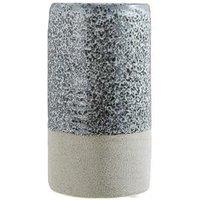 Product photograph showing Premier Housewares Speckled Stoneware Caldera Vase
