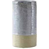 Product photograph showing Premier Housewares Caldera Grey Vase