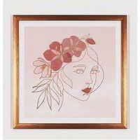 Product photograph showing Arthouse Boho Face Framed Print
