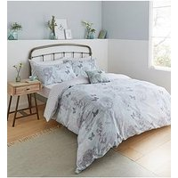 Product photograph showing Catherine Lansfield Catherine Lansfield Floral Butterfly Duvet Set - Db