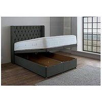 Product photograph showing Rye Full Ottoman Storage Divan Bed
