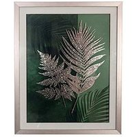 Product photograph showing Arthouse Fern Framed Print With Foil