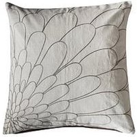 Product photograph showing Gallery Vitoria Cushion - Natural