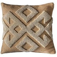 Product photograph showing Gallery Afonso Cushion - Natural