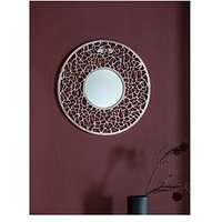 Product photograph showing Gallery Chester Wall Mirror - Silver