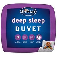 Product photograph showing Silentnight Deep Sleep 13 5 Tog Duvet