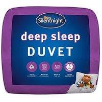 Product photograph showing Silentnight Deep Sleep 13 5 Tog Duvet