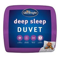 Product photograph showing Silentnight Deep Sleep 15 Tog Duvet
