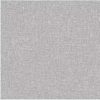 Product photograph showing Arthouse Grey Linen Texture Peel Stick Wallpaper