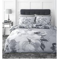 Product photograph showing Catherine Lansfield Dramatic Floral Duvet Cover