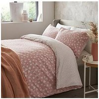 Product photograph showing Everyday Collection Heart Ditsy Twin Pack Duvet Set - Db