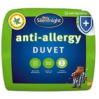 Product photograph showing Silentnight Anti Allergy Anti Bacterial 13 5 Tog Duvet