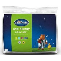 Product photograph showing Silentnight Anti Allergy Anti Bacterial Pillow Pair