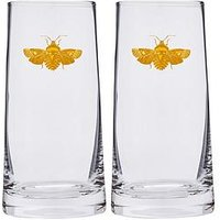 Product photograph showing Spode Creatures Of Curiosity Set Of 2 Highball Glasses