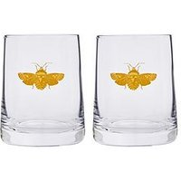 Product photograph showing Spode Creatures Of Curiosity Set Of 2 Tumbler Glasses
