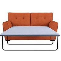 Product photograph showing Cuba Fabric Sofa Bed