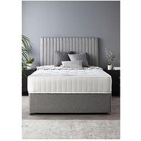 Product photograph showing Catherine Lansfield Soho Divan Set With Ortho Pocket Mattress King
