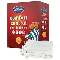 Product photograph showing Silentnight Comfort Control Electric Blanket