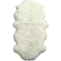 Luxe Collection Genuine Sheepskin Wool Rug - Double