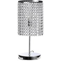 Product photograph showing Crystal Style Table Lamp