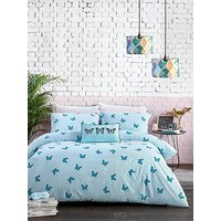 Product photograph showing Skinny Dip Butterfly Duvet Set - Sb